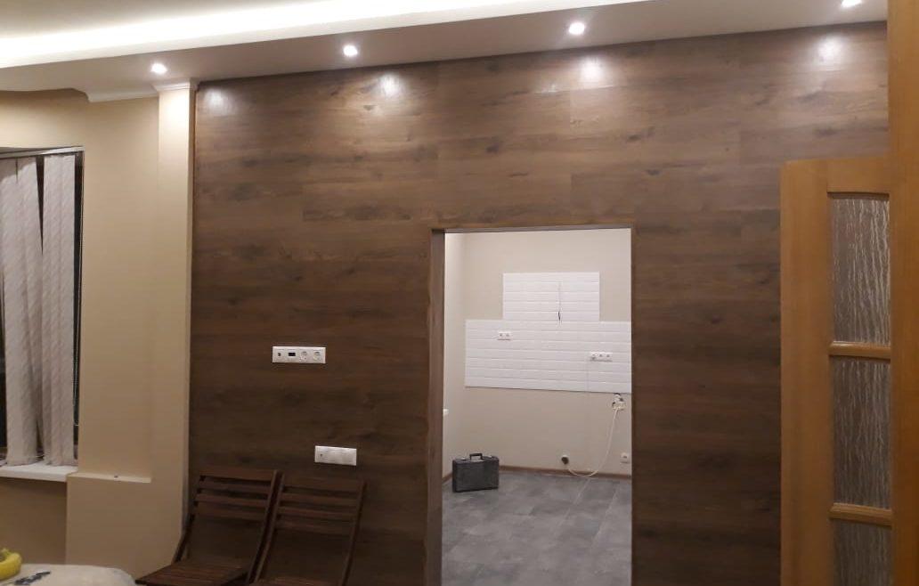 Ремонт двухкомнатной квартиры в Лобне.