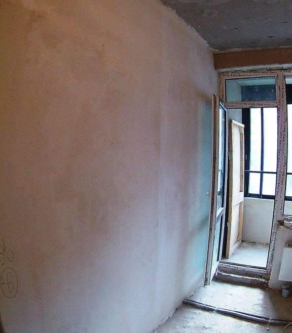 Процесс ремонта однокомнатной квартиры 32 м2.